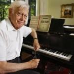 El pianista Frank Glazer que dio conciertos hasta los 99