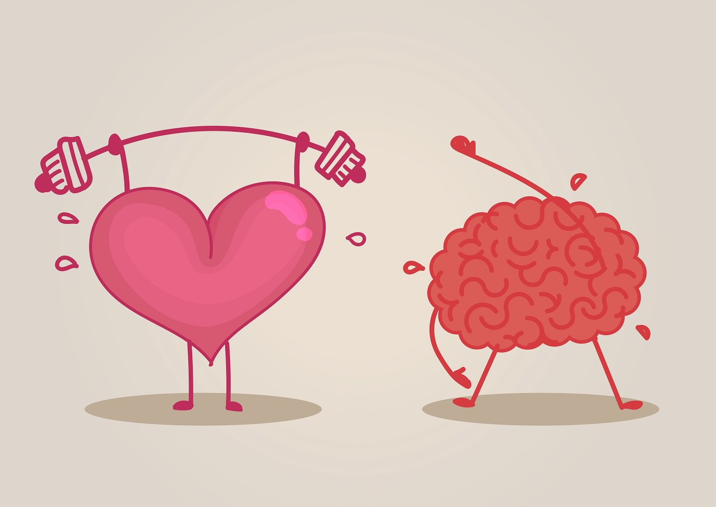 Brain & heart characters