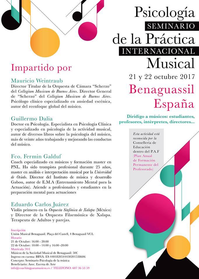 Seminario 2017 benaguasil