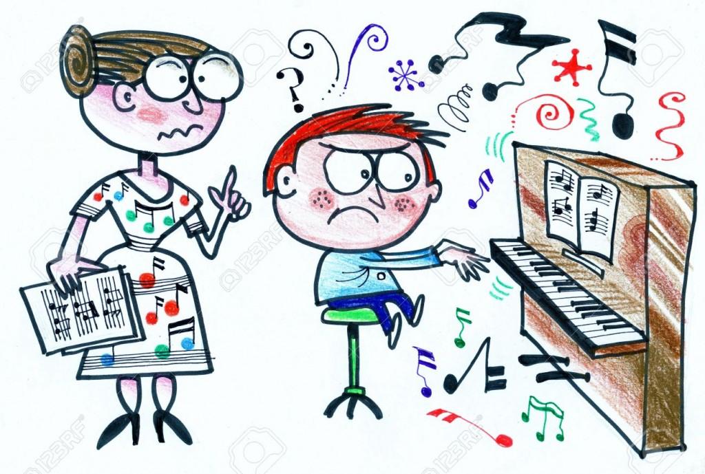 26439223-Dibujos-animados-de-profesor-de-m-sica-instruir-alumno-de-piano-Foto-de-archivo